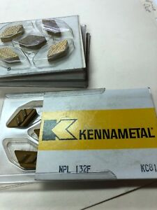 Kennametal Top Notch Carbide Insert Npl 132 F Kc810 0 Qty 5 New Great Deal