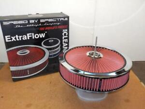 Spectre 47623 Hpr Extraflow 14 X 3 Air Cleaner Fits Holley cyber Sale