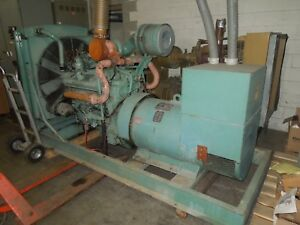 Kato 285kw 356kva 277 480 Volts 3ph Standby Diesel Generator Set Used