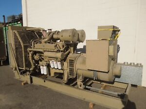 Cummins 500kw 625kva 480 277 Volts 3ph Standby Diesel Ac Generator Set Used
