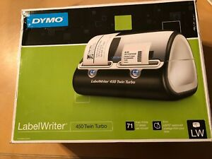 Dymo Labelwriter 450 Twin Turbo Label Thermal Usb Label Printer 1752266 new