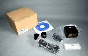 Omax 14 0mp Usb Digital Camera For Microscope With 0 01mm Calibration Slide