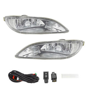 Bumper Fog Lights switch wiring For 2002 2004 Toyota Camry 2005 2008 Corolla