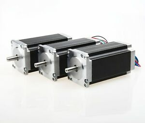 Us Free Ship 1pc Nema 23 Stepper Motor 435 Oz in 4 2a 4 Leads Powerful Cnc Kits