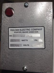 Vulcan Wtp910a Immersion Heater 14 1 8 In L New Without Box