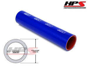 1 Ft X Long Hps 3 1 8 80mm Silicone Intercooler Turbo Straight Tube Hose Blue