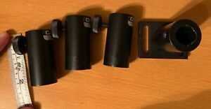 Lot Of 4 Oriel 14421 Optical Post Holders One Attached To Base