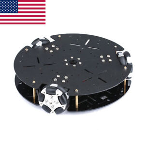 58mm Omni Directional Metal Wheel Robot Car For Arduino Intelligent Car Us Sell