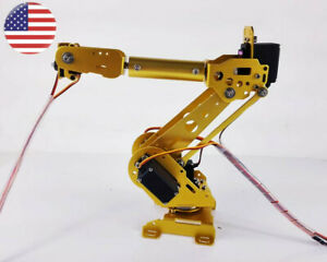 6 Axis Robot Arm Mechanical Industrial Robot Arm Free Manipulator W servos Us