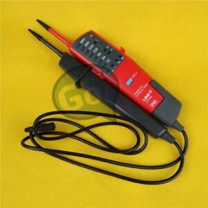 Uni t Ut18a Digital Voltage Continuity Tester Auto Range Mini Rcd Volt Meter New