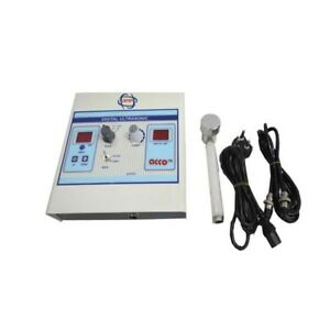 2 Set Of Electrotherapy Pain Relief Physiotherapy Ultrasound 1 Mhz Therapy Unit