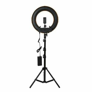 12inch Photography Studio Dimmable Led Ring Light With Holder Mount Stand