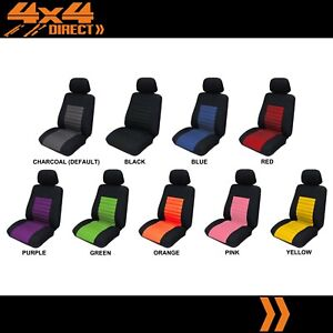 Single Vivid Jacquard Padded Seat Cover For Pontiac Fiero