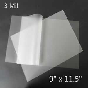 1000 Pack 3 Mil Thermal Laminating Pouches Letter Size 9 x11 5 Laminator Sheets