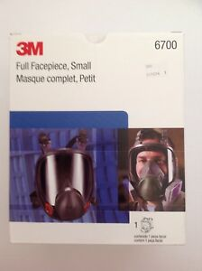New 3m Mask Small Full Face Respirator 6700