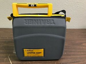 Medtronic Physio control Lifepak 500t Aed Trainer Training System