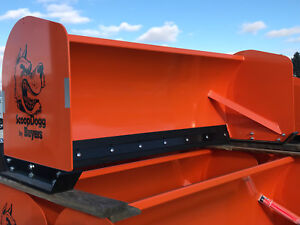 Snow Pusher 8 Skid Steer Box Pusher By Buyers Scoop Dogg Video
