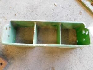 John Deere Compact Utility Tractor Weight Bracket Tag 161