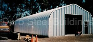 Durospan Steel 30x32x14 Metal Garage Workshop Building Structure Factory Direct
