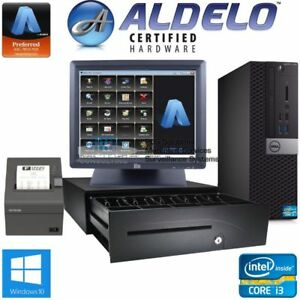 Aldelo Pos System For Bars Restaurants Complete Package Free Support I3 4gb