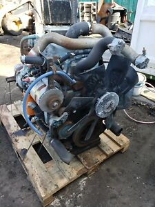 International Dt466 E 190hp Engine Assembly Out Of 98 4900 130k Miles 90 Day
