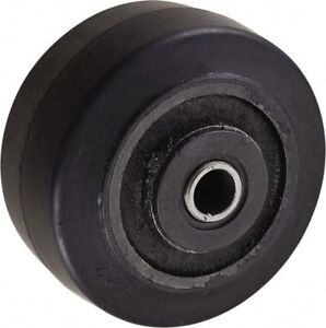 Value Collection 4 Inch Diameter X 2 Inch Wide Soft Rubber Caster Wheel 350
