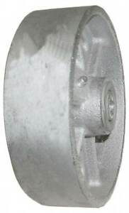 Value Collection 4 Inch Diameter X 1 1 2 Inch Wide Cast Iron Caster Wheel 60