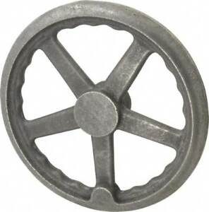 Gibraltar 10 3 Spoke Straight Handwheel 2 Hub Cast Iron Plain Finish