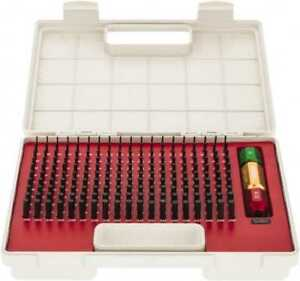 Spi 190 Piece 0 061 0 25 Inch Diameter Plug And Pin Gage Set Minus 0 0002 In