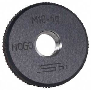 Spi M1 8x0 35 No Go Single Ring Thread Gage Class 6g Oil Hardened Nonshrinki