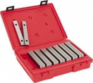 Value Collection 16 Piece 6 Inch Long Tool Steel Parallel Set 7 8 To 1 3 4 I