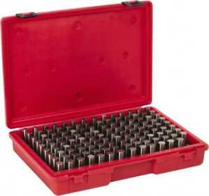 Value Collection 125 Piece 0 501 0 625 Inch Diameter Plug And Pin Gage Set P