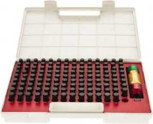 Spi 125 Piece 0 501 0 625 Inch Diameter Plug And Pin Gage Set Plus 0 0002 In