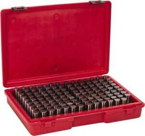 Value Collection 125 Piece 0 626 0 75 Inch Diameter Plug And Pin Gage Set Pl