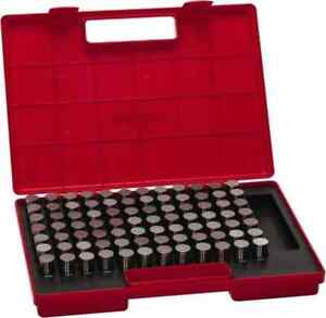 Value Collection 84 Piece 0 833 0 916 Inch Diameter Plug And Pin Gage Set Mi