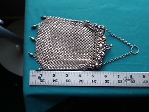 Sterling Silver Mesh Handbag R Blackinton 951