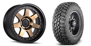 Mayhem Prodigy 17x9 Bronze Wheels Rims Mxt Mt Tires Package 6x5 5 Toyota Tacoma