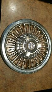 1965 1966 Ford Galaxie 500 Fairlane Mustang Wire Wheel Cover Hubcap 3 Bar 15