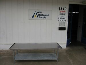 Heavy Duty Equipment Stand 72 X 24 W shelf Commercial 3764