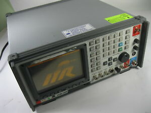 Ifr Com 120b Communication Service Monitor As Is
