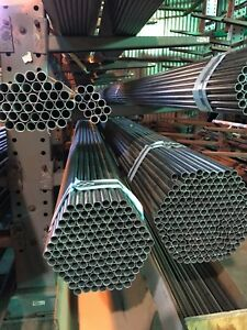 Tp304 304l Welded Stainless Steel Tube 75 Od X 049 Wall X 20 ft