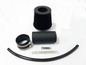 All Black Coated Air Intake System Kit For 1991 1995 Jeep Wrangler 2 5 4 0 S Se