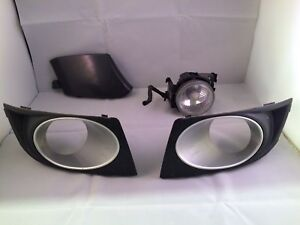 2008 2009 Subaru Legacy Fog Light Covers Tow Hook Cover Driver Foglight Oem