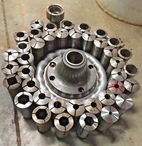 Hardinge Sjogren 5ca Metal Lathe Speed Chuck 5c Collet Southbend Clausing Jet At