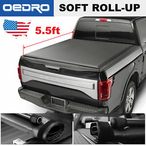 Oedro 5 5 Soft Cove Truck Bed Tonneau Cover For 2015 2019 Ford F 150 Styleside