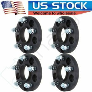 4pcs 5x114 3 5x4 5 12x1 25 20mm Wheel Spacers For Nissan 370z 2009 2017