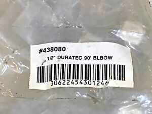 5 Pcs Duratec 438080 Airline 90 Degree Elbow 1 2 New sealed Free Expedited S