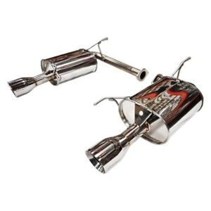 Tanabe Medallion Touring Dual Muffler Catback Exhaust 01 03 Tl Type S