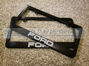 Ford License Plate Frame Ford Racing Pair