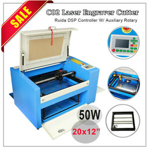 40w 50w 60w 80w 100w Co2 Laser Engraving Cutte Engraver Tube Power Supply Dongle